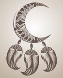 Dream catcher design Royalty Free Stock Photo