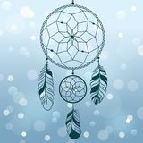 Dream catcher. Royalty Free Stock Photography