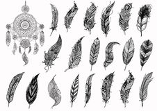 Pattern For Coloring Book Dream Catcher Illustration 62050431