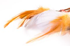 Dream catcher isolated on white Stock Images