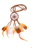 Dream catcher. Isolated on white background Stock Photo