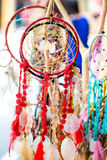 Dream catcher in market Royalty Free Stock Image