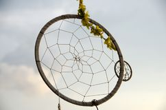 Dream Catcher with nature light on beach. Dream Catcher with nature light on topical beach Stock Photography