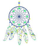 Dream Catcher in navajo style Stock Photo