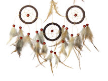 Dream catcher pure white background Stock Photo
