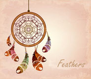 Dream catcher. romantic Stock Photo