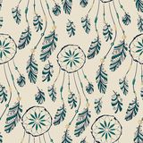 Dream catcher seamless pattern Stock Images