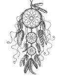 Dream Catcher Sketch Stock Image