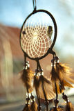 Dream Catcher. Soft Focus Dream Catcher with arrowhead Royalty Free Stock Photo