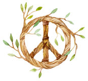Dream catcher symbol of peace Royalty Free Stock Photography