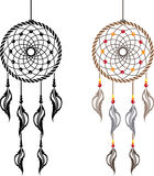 Dream Catcher vector Stock Images