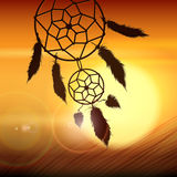Dream catcher on the Wind Royalty Free Stock Photos