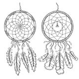 Dream catchers. Native american traditional symbol Royalty Free Stock Photography