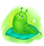 Dream caterpillar Royalty Free Stock Image