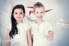 Dream children Stock Images