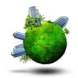 Dream city planet Royalty Free Stock Photography