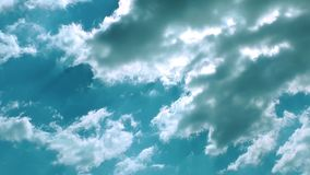 Dream Clouds Time Lapse stock footage