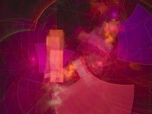 Dream color abstract digital fractal contrast design, festive. Abstract digital fractal design, festive dream contrast vector illustration