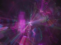 Dream color abstract digital fractal decorative style contrast design, festive. Abstract digital fractal design, festive dream contrast style decorative vector illustration