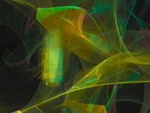 Dream color abstract digital fractal design, festive. Abstract digital fractal design, festive dream vector illustration