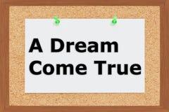A Dream Come True concept vector illustration