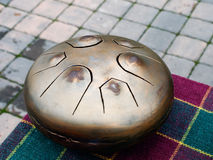Dream Drum. Musical instrument Dream Drum is outdoors Stock Image