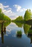 Dream of fisherman. Stock Images