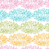Dream floral damask seamless pattern background Stock Images