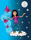 Dream girl Stock Images