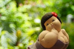 Dream girl Stock Image