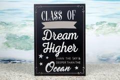 Dream Higher Stock Image