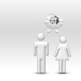 Dream Home Royalty Free Stock Photography