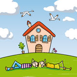 Dream Home Royalty Free Stock Photos