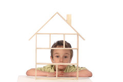 Dream of home Royalty Free Stock Photography