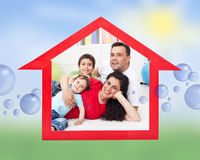 Dream home concept Stock Images