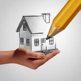 Dream Home Concept Stock Image