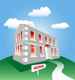Dream Home Vector Stock Images