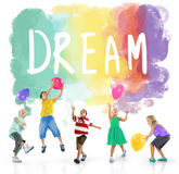 Dream Hopeful Inspiration Imagination Goal Vision Concept Stock Photography