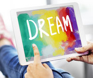 Dream Hopeful Inspiration Imagination Goal Vision Concept Royalty Free Stock Image