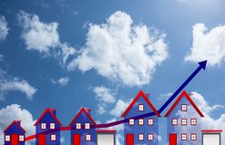 Dream house Stock Photography