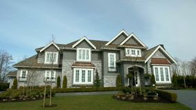 Dream House exterior Royalty Free Stock Photo
