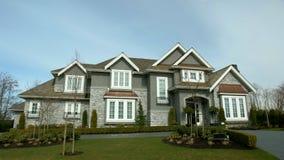 Dream House exterior royalty free stock photo