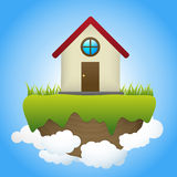 Dream house Stock Image