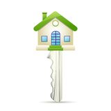 Dream House Key Royalty Free Stock Images