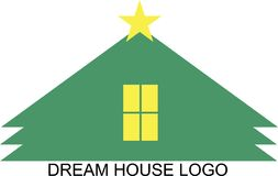 DREAM HOUSE LOGO stock image