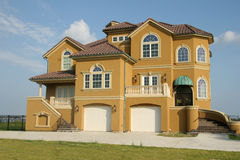 Dream house mansion with view Stock Images