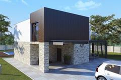 The dream house. Stock Photos