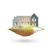 Dream house Royalty Free Stock Photography