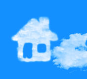 Dream House Represents Wants Housing And Desired. Dream House Indicating Property Wish And Desired Royalty Free Stock Photos