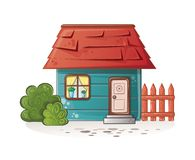 Dream house. Sweet home for family. This is file of EPS10 format Stock Images